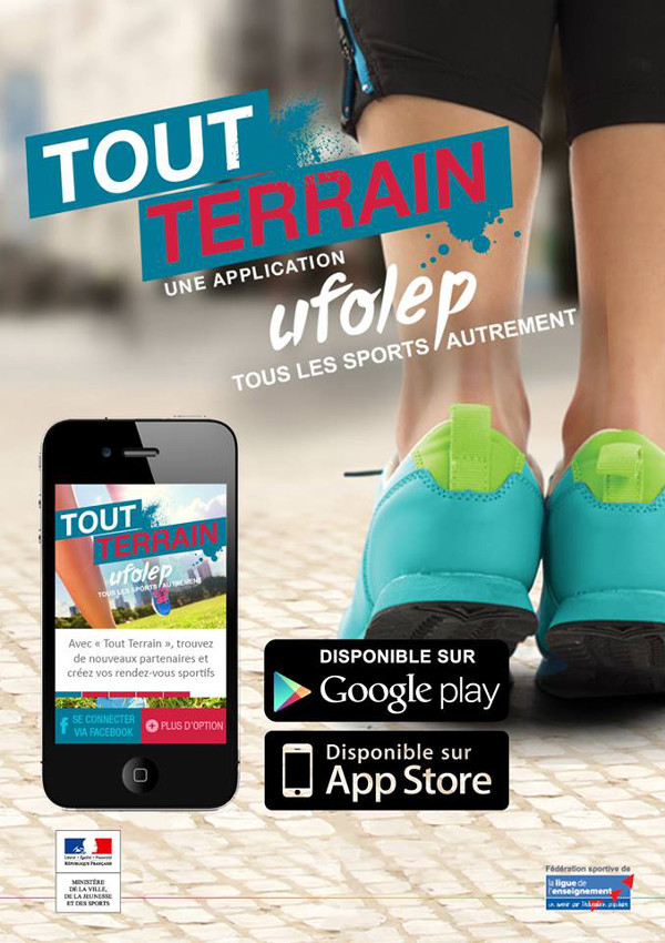 Application Tout Terrain UFOLEP